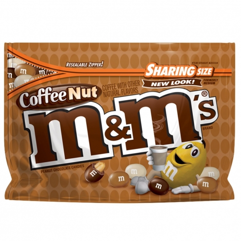 Драже M&Ms Coffee Nut Sharing Size