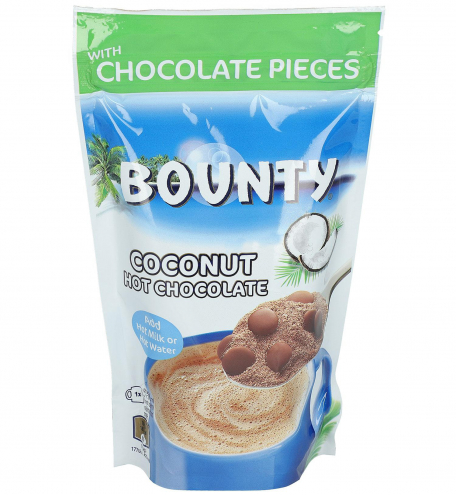 Bounty Hot Chocolate Coconut