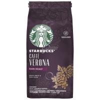 Молотый кофе Starbucks Caffe Verona Dark Roast Roasty Sweet