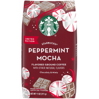 Мелену каву Starbucks Peppermint Mocha