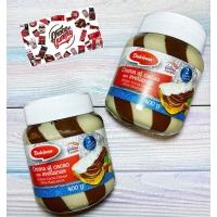 Испанская шоколадная паста Dulcinea Duo 400г